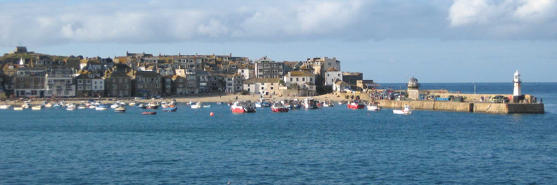St. Ives and harbour